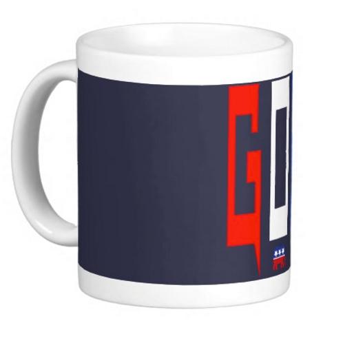 "GOP Coffee Mug "" Navy Blue """