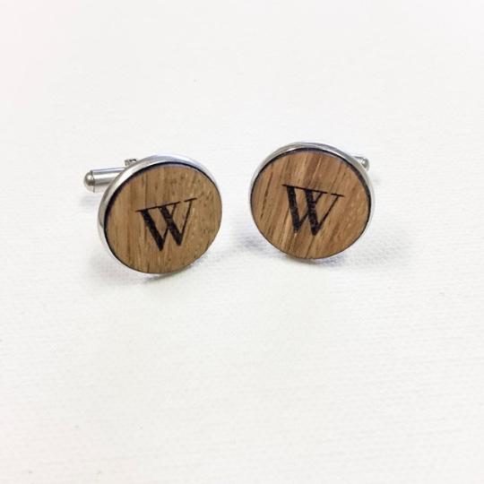 Custom Wood Cufflinks