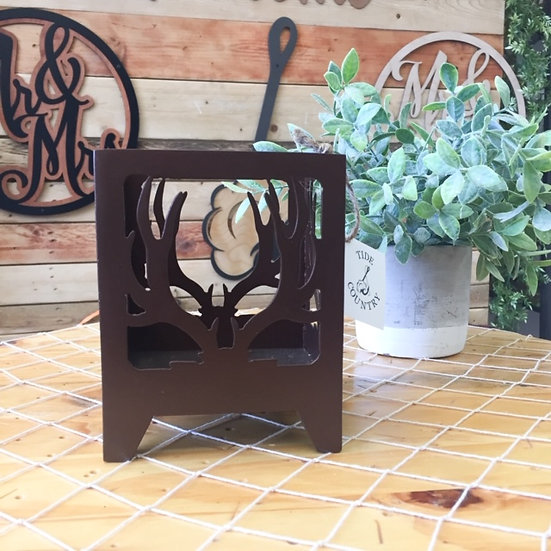 Small Antler Candle Holder