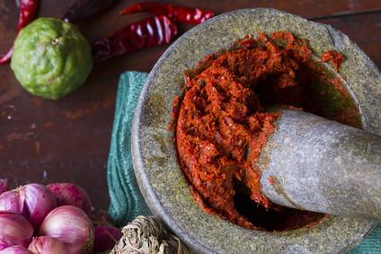 Recipe: 5 Ingredient Thai Red Chicken Soup