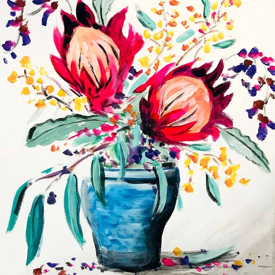 Native Botanicals | Sip and Paint