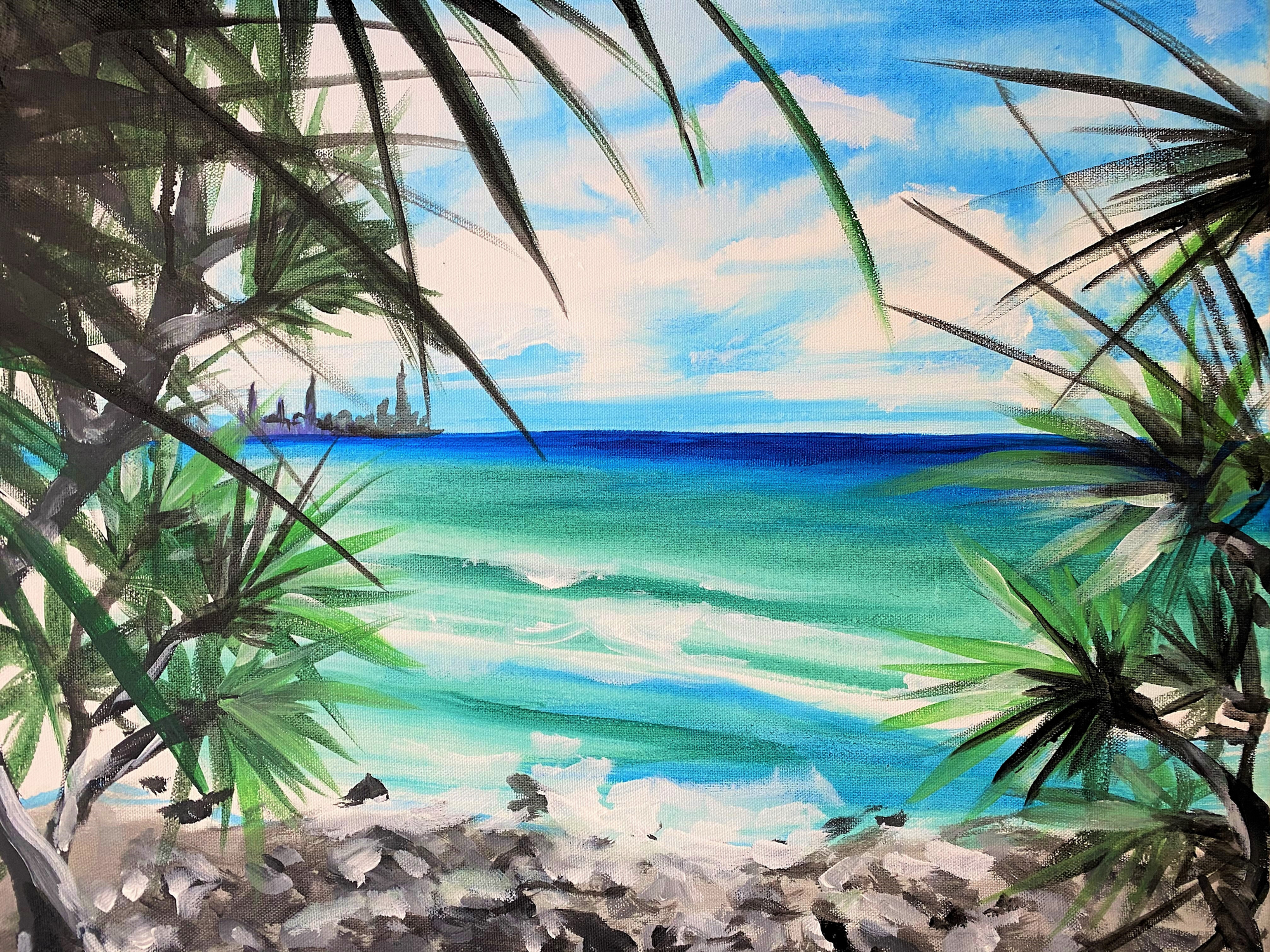 Burleigh lookout   Sip and Paint