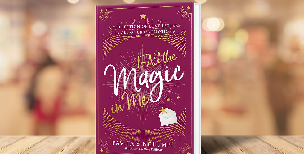 TO ALL THE MAGIC IN ME