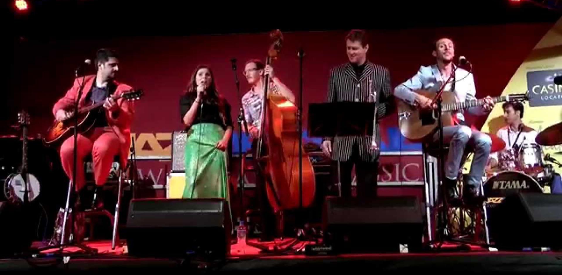 Live @ JazzAscona 2014 - Let It Swing Tour con Michael Supnick