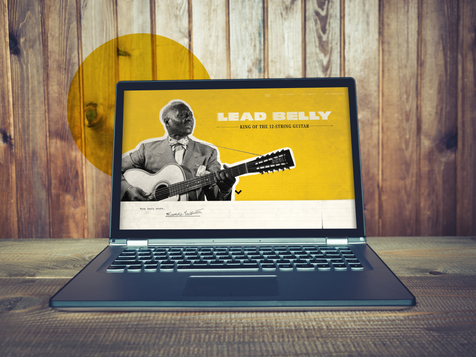 Lead Belly Foundation Website