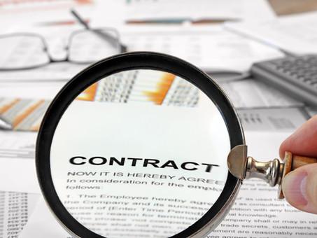 Agreements: SEC Exam Focus Item