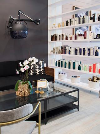 the salon!