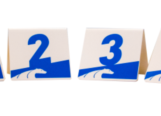 GALICAN ALUMINUM NUMBER SET