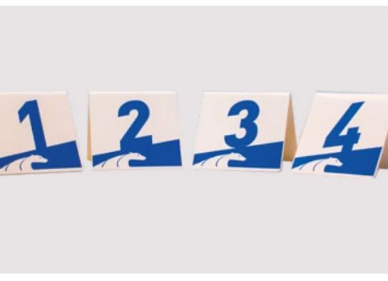 GALICAN INDIVIDUAL PVC NUMBERS