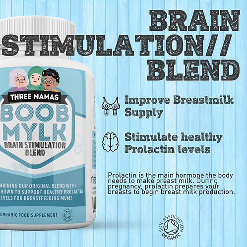 Boob Mylk Organic Lactation Support: Brain Stimulation Blend