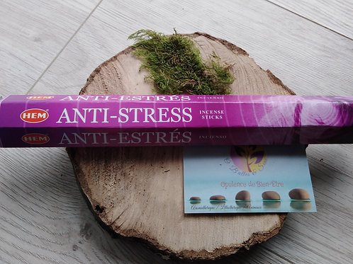 "Encens bâtonnet ""Anti Stress"""