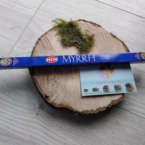 """Encens bâtonnet """"Myrrhe"""""""