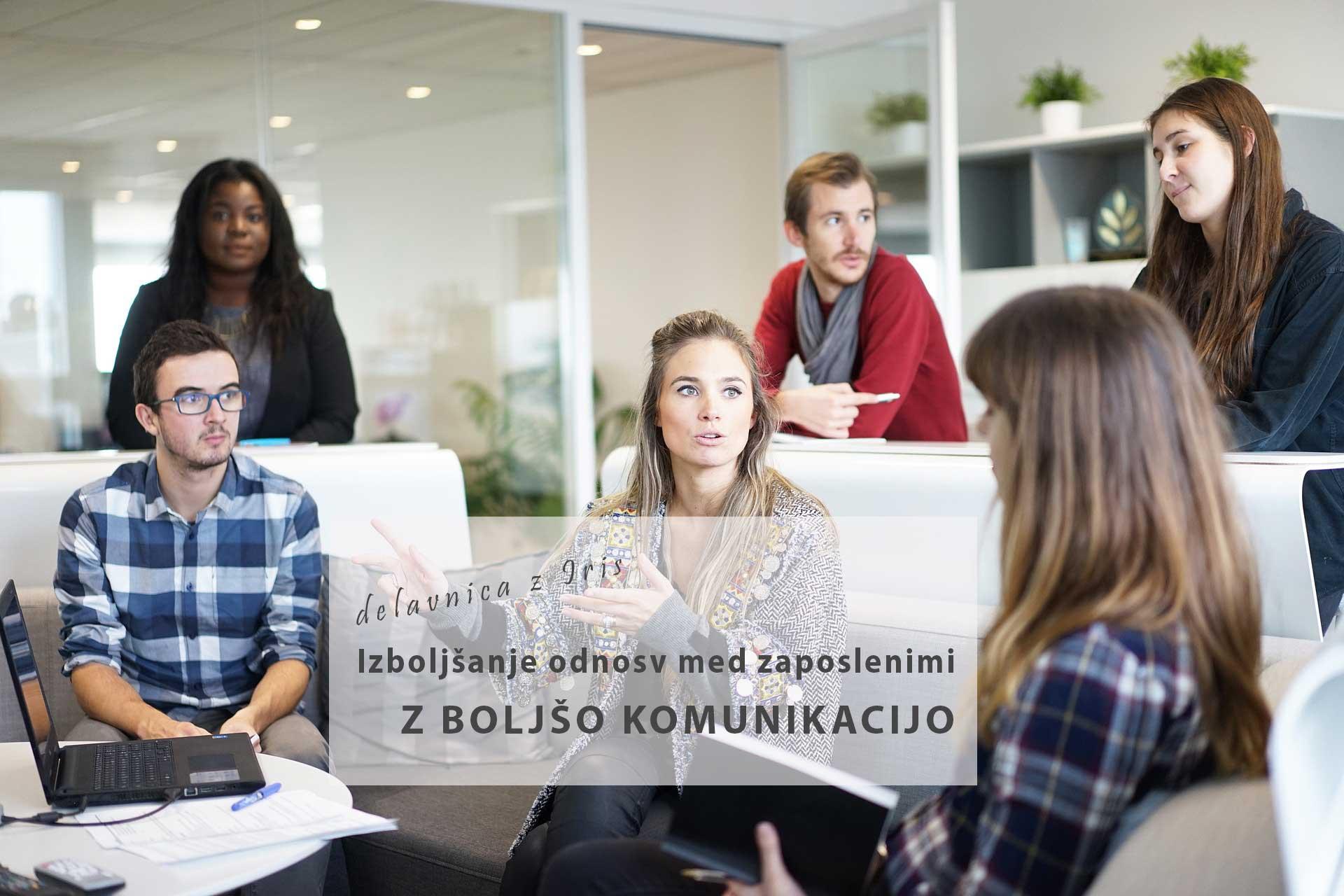 Izboljšanje odnosov med zaposlenimi