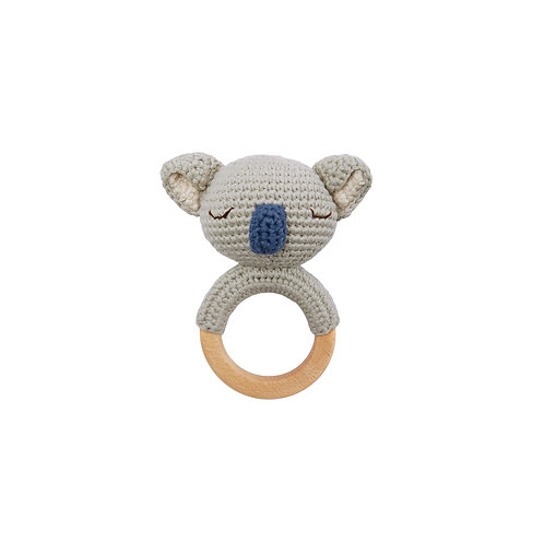 Koala Teething Ring Organic-Cotton raf