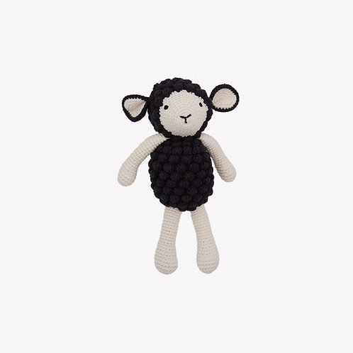 Sheep Organic-Cotton Toy - black