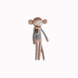 Monkey Organic-Cotton Toy large