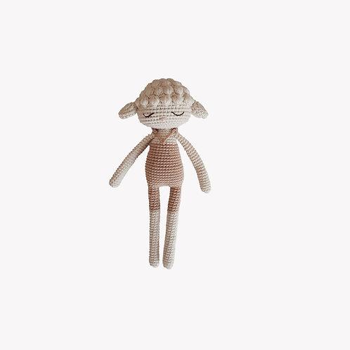 Lamb Organic-Cotton Toy beige swimsuit