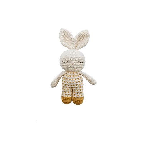 Bunny Organic-Cotton ochre