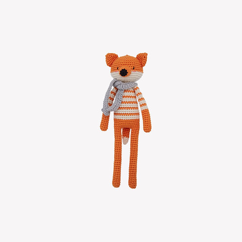 Mr. Fox Organic-Cotton Toy -carrot