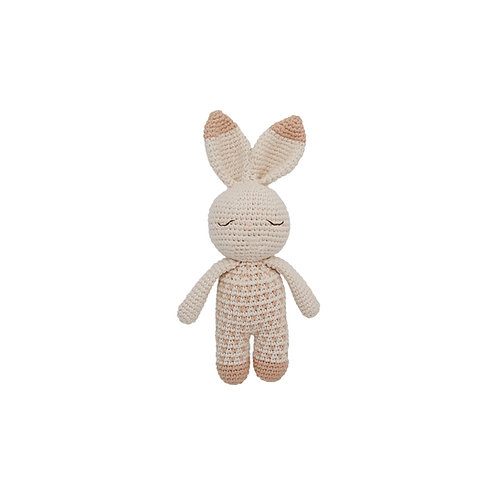 Bunny Organic-Cotton Toy - dots
