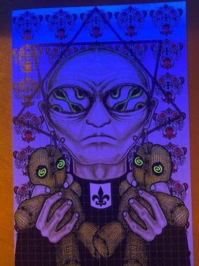 """Voodoo Priest"" (Infinite Awareness) UV Embellished"