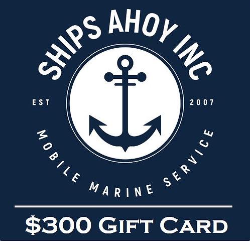 Ships Ahoy Gift Card
