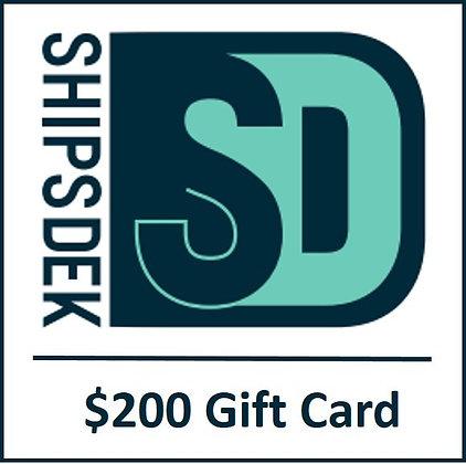 ShipsDek Gift Card