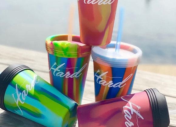 Hard Logo Silicone Cups
