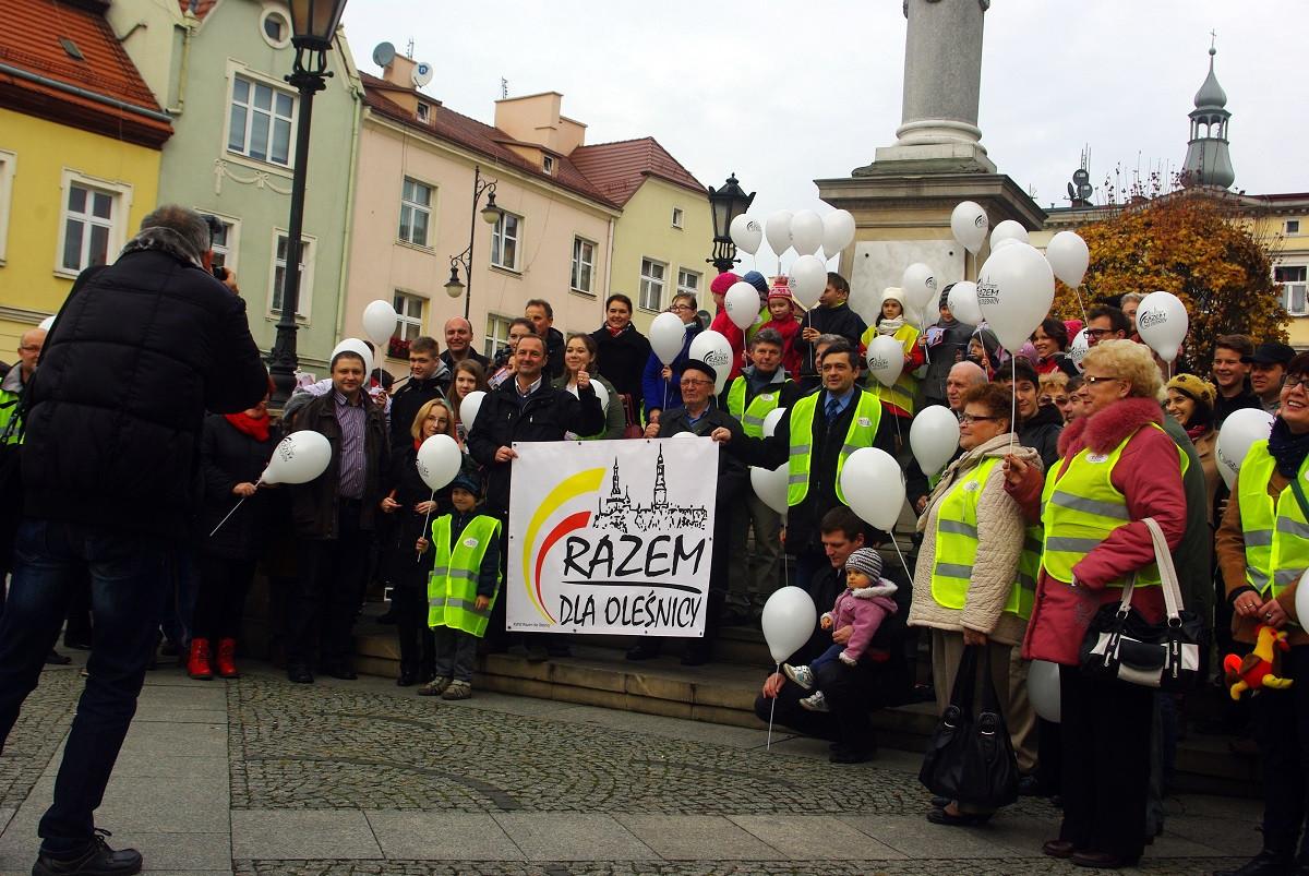 Kampania Razem dla Oleśnicy