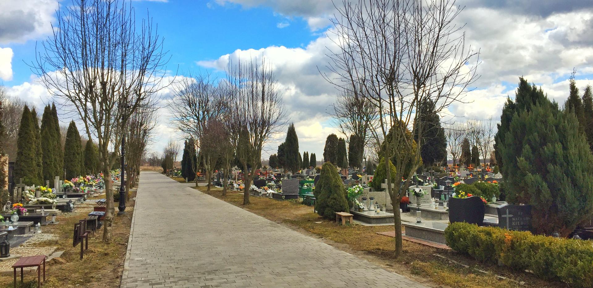Rozbudowa cmentarza przy ul. Wileńskiej