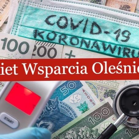 Pakiet Wsparcia Oleśniczan. Wprowadźmy go razem!