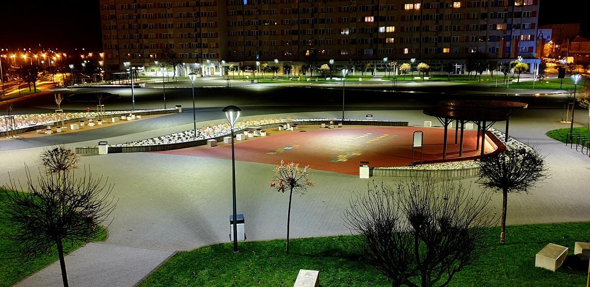 Plac Zwycięstwa stał się jedną z wizytówek Oleśnicy