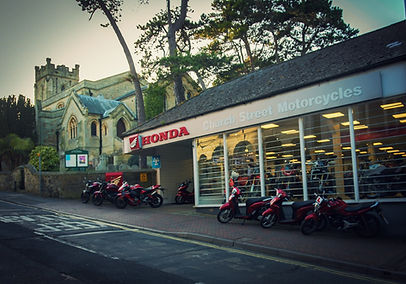 Church Street Motorcycles. Honda.
