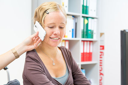 Unterstützung beim Telefonieren