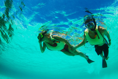 Who's your snorkel buddy?