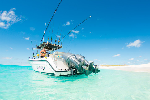 Deep Blue Charters boat, 'About Time'