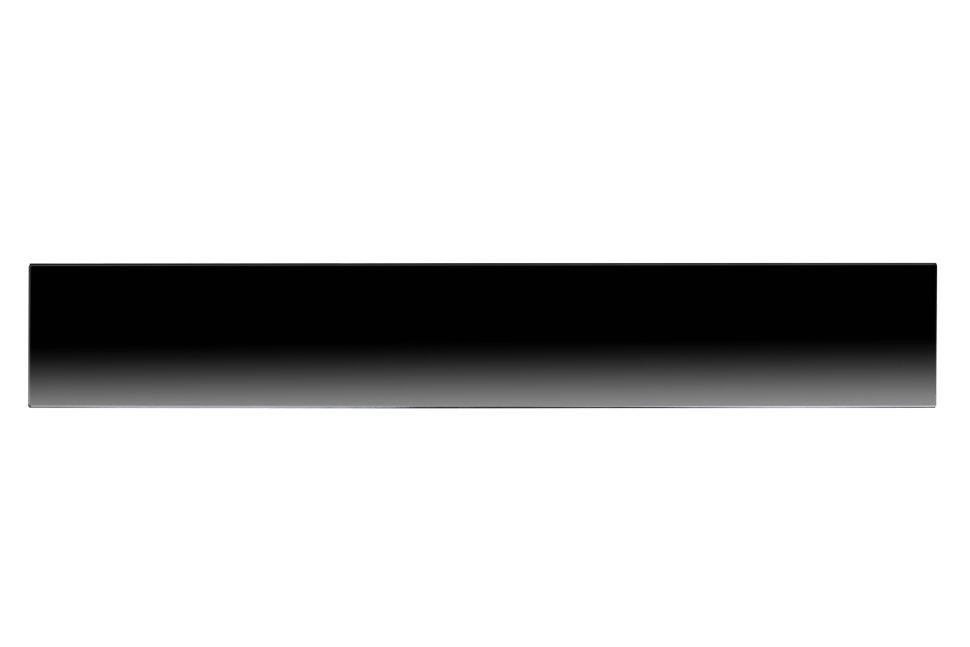 Плинтусный электрический нагреватель СТН черный Р-1 без терморегулятора