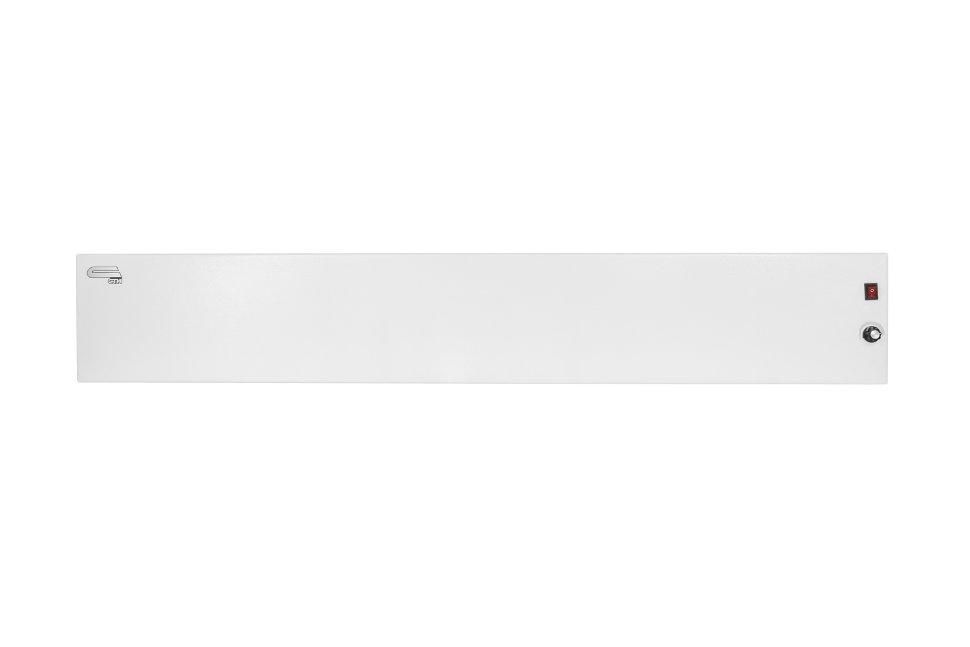 Плинтусный электрический нагреватель СТН белый Р-1Т с терморегулятором