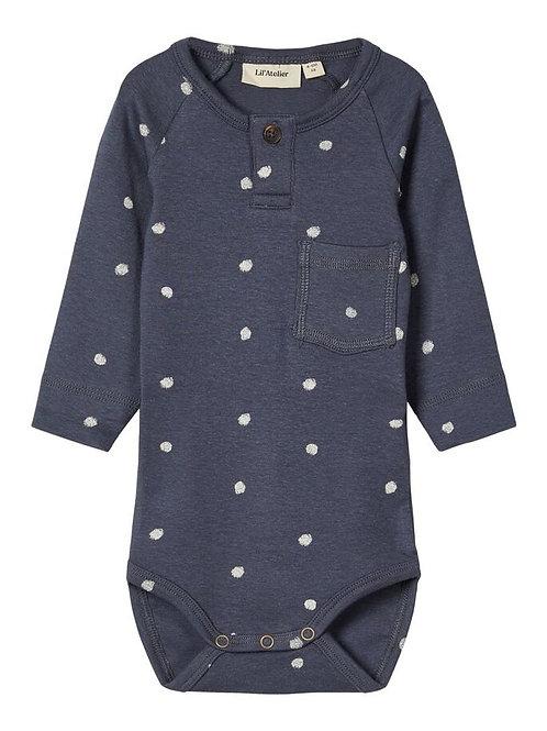 Body shirt met dots
