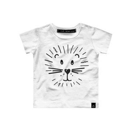 Lion t-shirt kort mouw