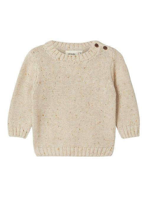 Katoen knit trui