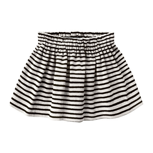 Beige stripe skirt