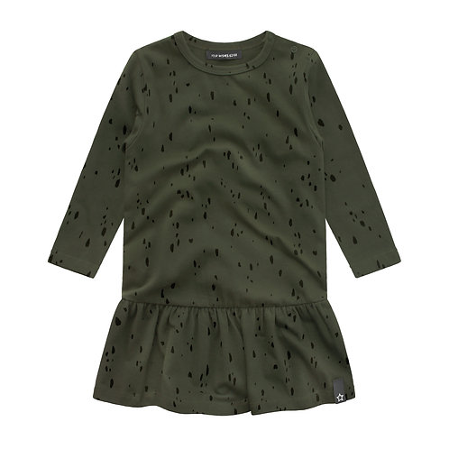 Splatters shift dress