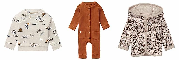 Noppies voor trendy babykleding newborn baby's