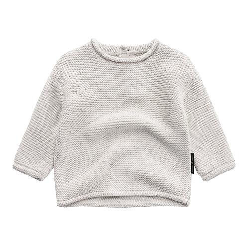 Boxy knit sweater