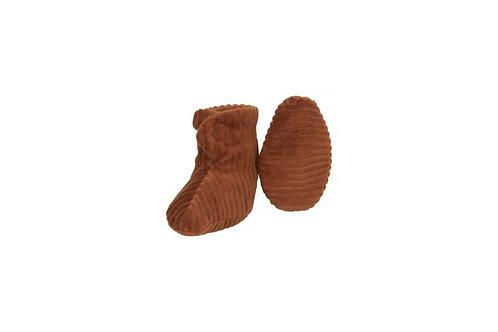 Shoes rib velvet