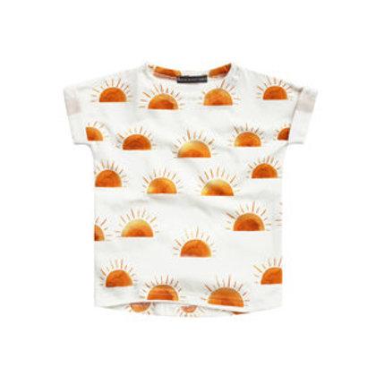 Sunset boxy t-shirt