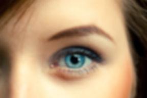 Female blue eye