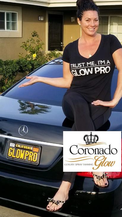 Elizabeth   Coronado Glow Spray Tan