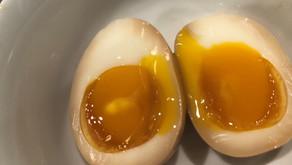Seasoned runny egg for ramen topping   100 % success!